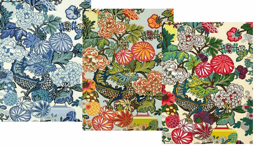 Asian Inspired Fabrics And Wallcoverings At Decoratorsbest