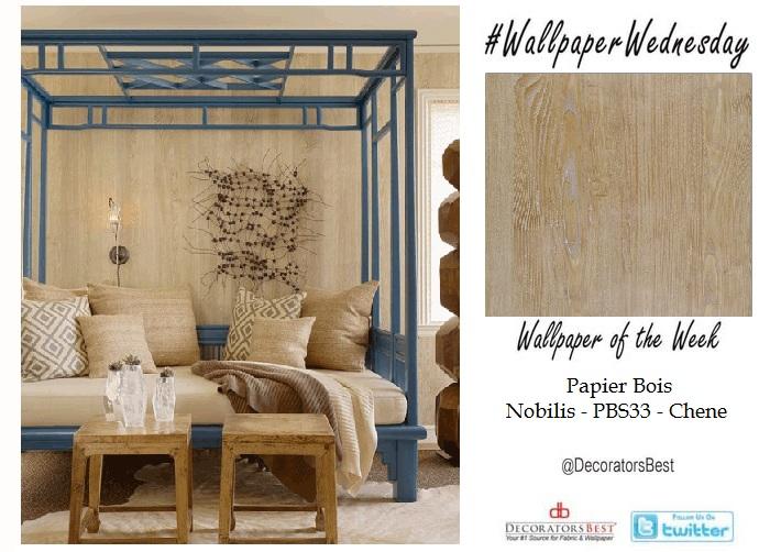Faux Bois Wallpaper wallpaper wednesday: trend alert- faux bois | decoratorsbest blog