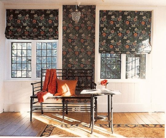 Curtains Ideas curtains matching wallpaper : How To Pull Off Matching Wallpaper and Fabric | DecoratorsBest Blog