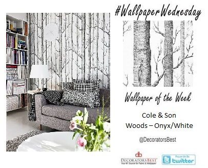 Decorators Best Wallpaper Wednesday Cole & Son Optimum Woods & Pears Trendy Interior Decor Design Ideas Inspiration