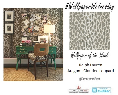 Animal Print Wallpaper Wednesday Decorators Best Interior Decor Design Trends Ideas Ralph Lauren DecoratorsBest