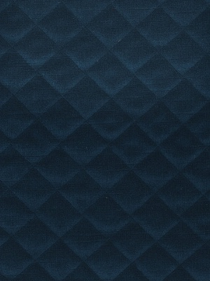 Fabricut Fabrics Quilted Velvet - Cobalt at DecoratorsBest