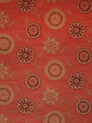 Greenhouse A1792 - Terracotta Fabric at DecoratorsBest