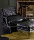 Quilted Leather Chair B. Berger Fabric DecoratorsBest Interior Decor Tips And Ideas
