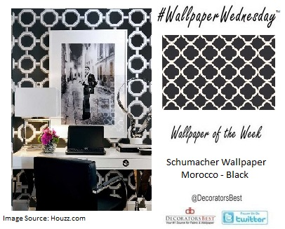 Schumacher Wallpaper, designer wallpaper, interior décor inspiration, design trends, Decorators Best,
