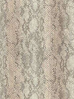Schumacher Wallpaper Cody Snakeskin - Malt 5006230
