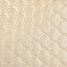 Duralee Fabric - 89145 - Creme at DecoratorsBest