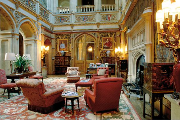 Downton Abbey Grand Interior Hall
