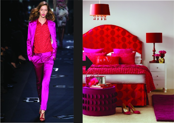 Fall 2013 New York Fashion Week Translated into Interior Decor Diane Von Furstenberg