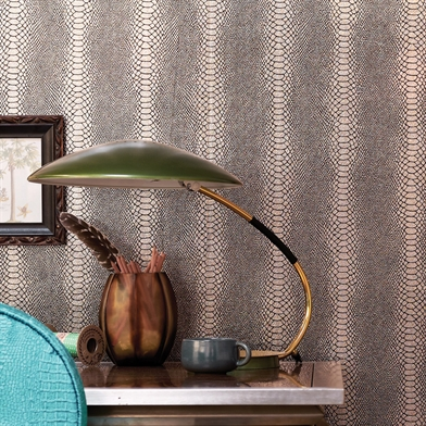Snake Skin Wallpaper Interior Decor Ideas Inspiration