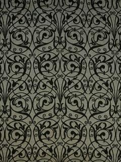 Ralph Lauren Fabric MANSART SHEER - EBONY LFY60652F