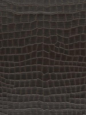 Ralph Lauren Faux Leather Wallpaper - Yacare Crocodile - Mahogany at DecoratorsBest