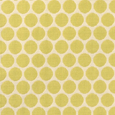 Duralee Green Dots Fabric 14541-546 Key Lime