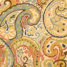 Duralee Paisley Fabric 42143-215 Multi