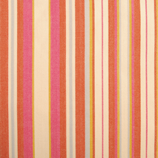 Duralee Fabric 71038 518 Rosewood Pink Orange Yellow Blue Stripe