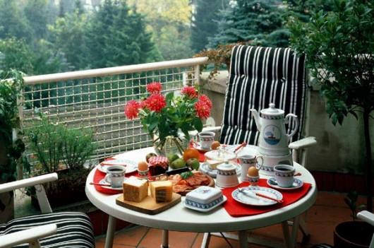 Outdoor Breakfast Al Fresco Terrace Outdoor Decor Ideas Inspiration