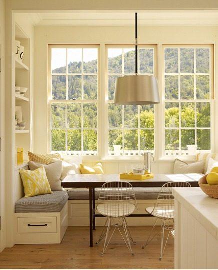 Breakfast Nook Interior Decor Dining Ideas