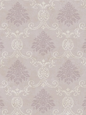 Document Damask BD9173 York Wallpaper Pastel Purple