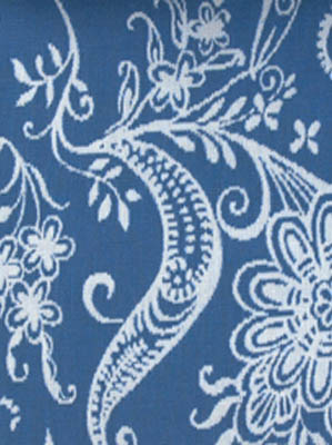 Duralee Sunbrella Pavilion Indoor Outdoor Fabric 14977 193 Indigo