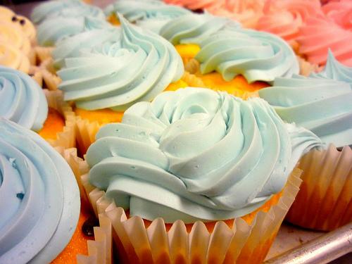 Pastel Cupcakes Desserts