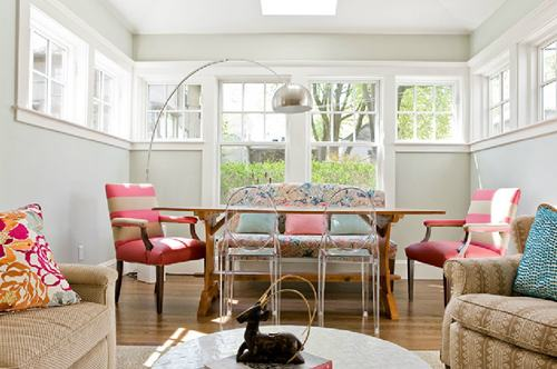 Banquette Dining Room Interior Decor Ideas