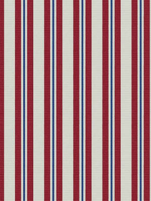 Ralph Lauren American Outdoor Fabric Neptune Stripe Admiral Red LFY50510F