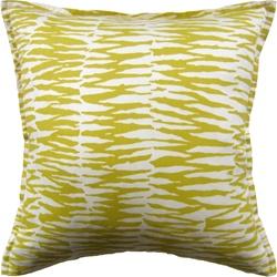 Ryan Studio Pillow  Zebra Print  Bamboo 22X22 Outdoor Pillow Fabrics