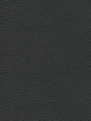 Schumacher Faux Leather Brisa - Black Onyx