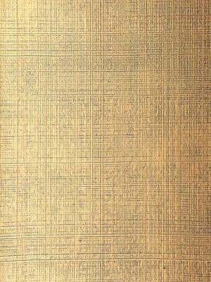 Schumacher Metallic Wallpaper Brushed Plaid - Gilded Teal Sch 5005784
