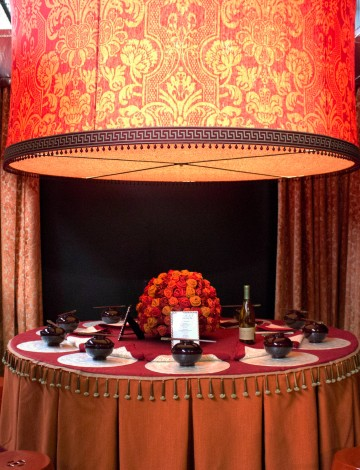Decorators Best DIFFA 2013 Fabricut Table Dining Room Design Inspiration