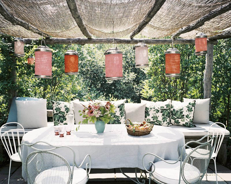 decorators best outdoor dining decor inspiration arbor - Decorators Best