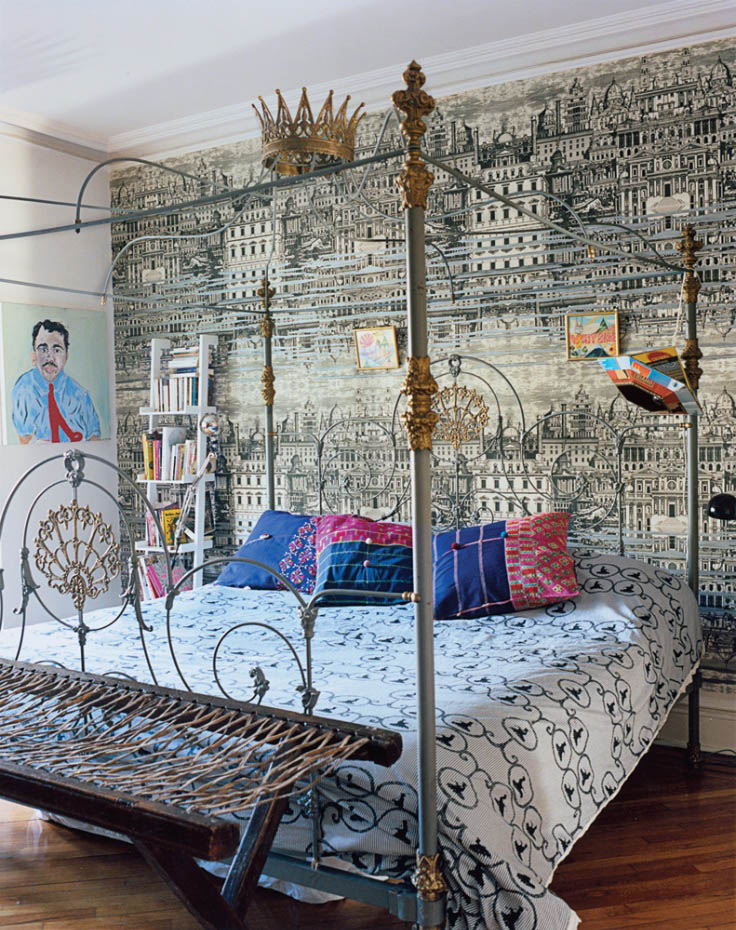 Fornasetti the architectural magician decoratorsbest blog for Decorators best wallpaper