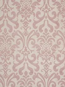 Robert Allen Pink Damask Fabric Endruschat - Quartz