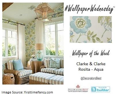Clarke & Clarke, Decorators Best, Floral, Sun Rooms, Outdoor décor, design inspiration
