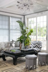 Decorators Best. Hampton Style, fabric, interior, design, inspiration, Schumacher, eclectic, bold, waves