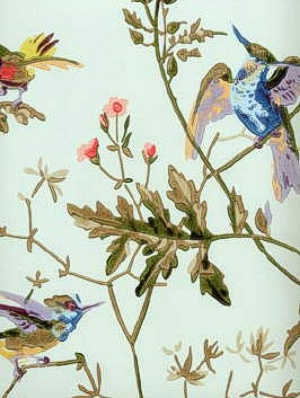 Cole & Son Wallpaper Hummingbirds Ruban 62_1004_CS