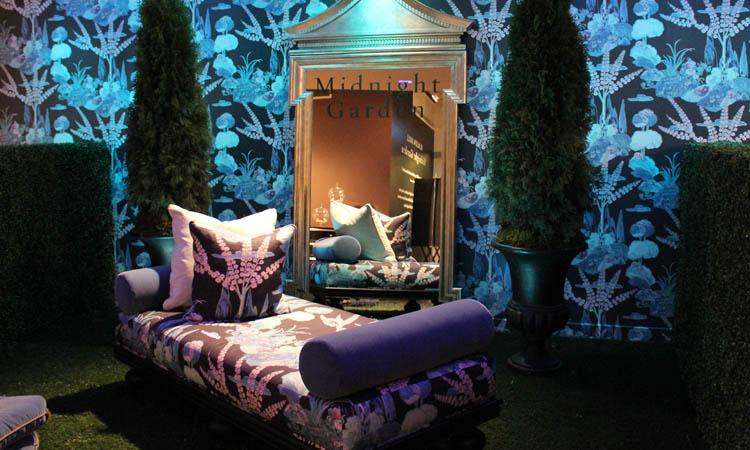 beacon hill midnight garden collection moon blossom fabric decorators best design inspiration - Decorators Best