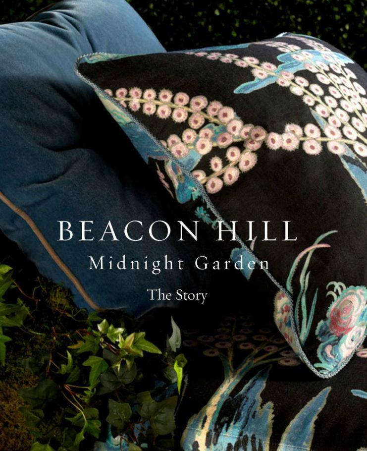 beacon hill midnight garden collection story book decorators best design inspiration - Decorators Best