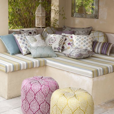 Clarke And Clarke Bukhara Embroidered Fabric Collection Decorators Best Design Inspiration