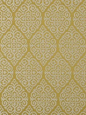 Clarke And Clarke Bukhara Fabric Collection Embroidery Zari Citrus F0374 03