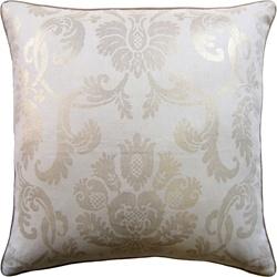 Ryan Studio Pillow - Damask - Mushroom 22X22 Damask-267-T