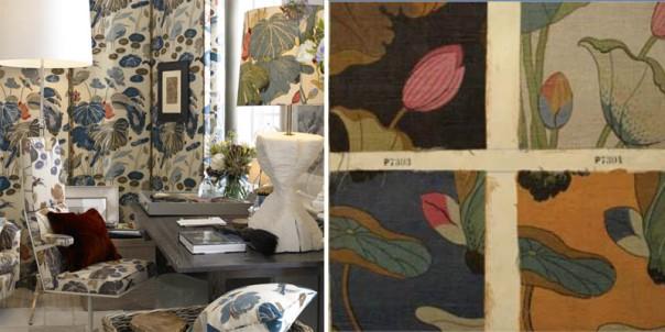 Decorators Best Historical Prints Design Inspiration GP J Baker Archive Fabric Nympheus 1915 Crayford Collection