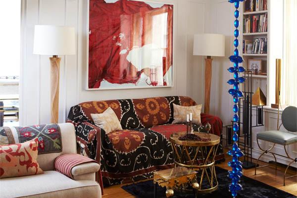 Decorators Best Ikat Suzani Fabric Design Inspiration Elle Decor