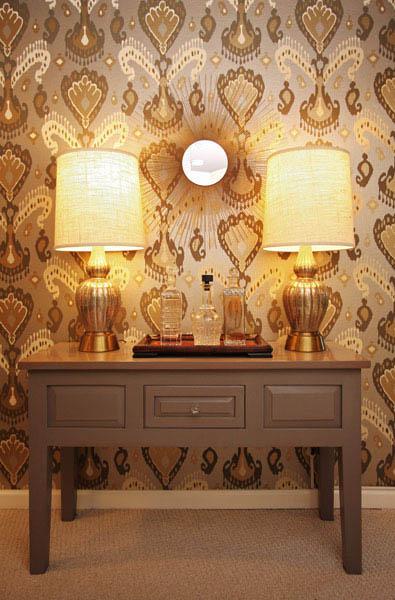 decorators best ikat wallpaper glamorours world travel design inspiration - Decorators Best
