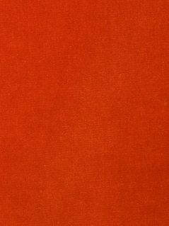 Fabricut Fabric Luxury Velvet Orange Crush 2579552