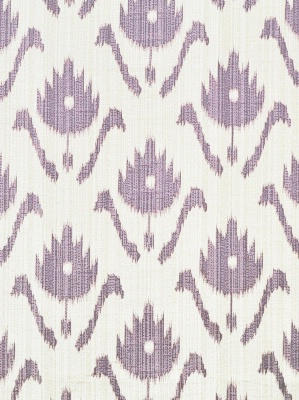Clarence House Hill Brown Fabric Patola - Violette HB408-2