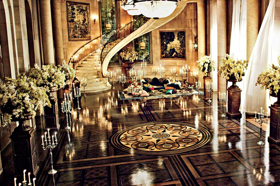 Great Gatsby 2013 Set Interior Decor Baz Luhrman Mansion Ballroom