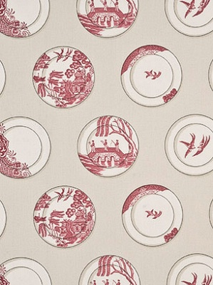 Lee Jofa Baker Lifestyle Collection Porcelain Red PP50329_2
