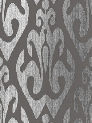 Schumacher Wallpaper Byzantium Collection Tokat Graphite 5005982