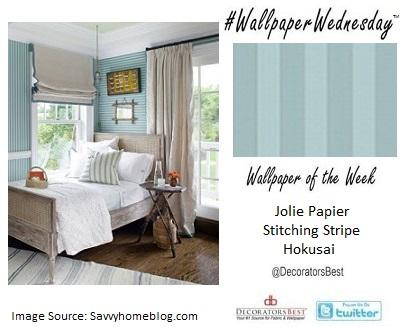 Best, Hamptons, Décor, Interior Design, Jolie Papier, stripes, seafoam green